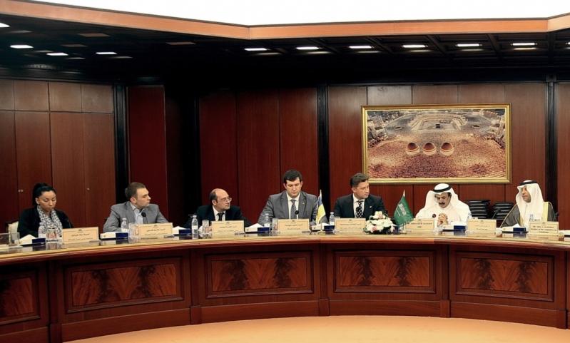 اجتماع لجنة الصداقة السعودية الأوكرانية - معتمدة