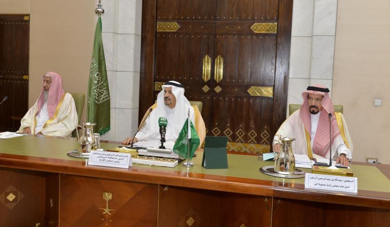 اجتماع مجلس ادارة جمعية البر بالرياض (4)