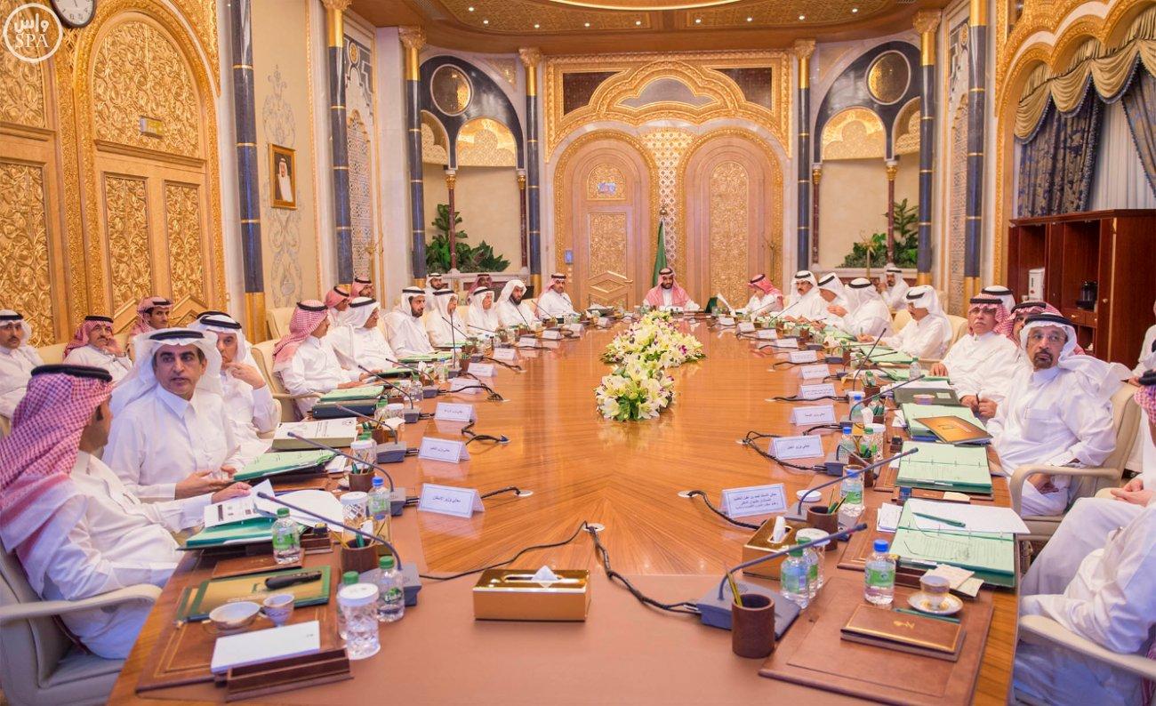 اجتماع-مجلس-الشؤون-الاقتصادية -محمد بن سلمان) (2)