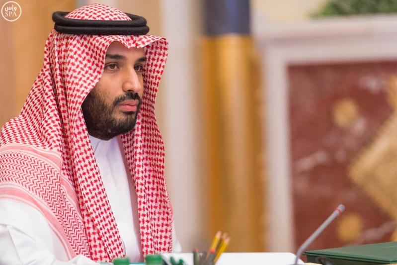 ولي العهد يؤكد حرص المملكة على أمن العراق واستقراره