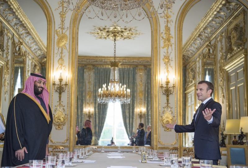 برئاسة ولي العهد وماكرون.. بدء اجتماع مجلس الشراكة السعودية الفرنسية