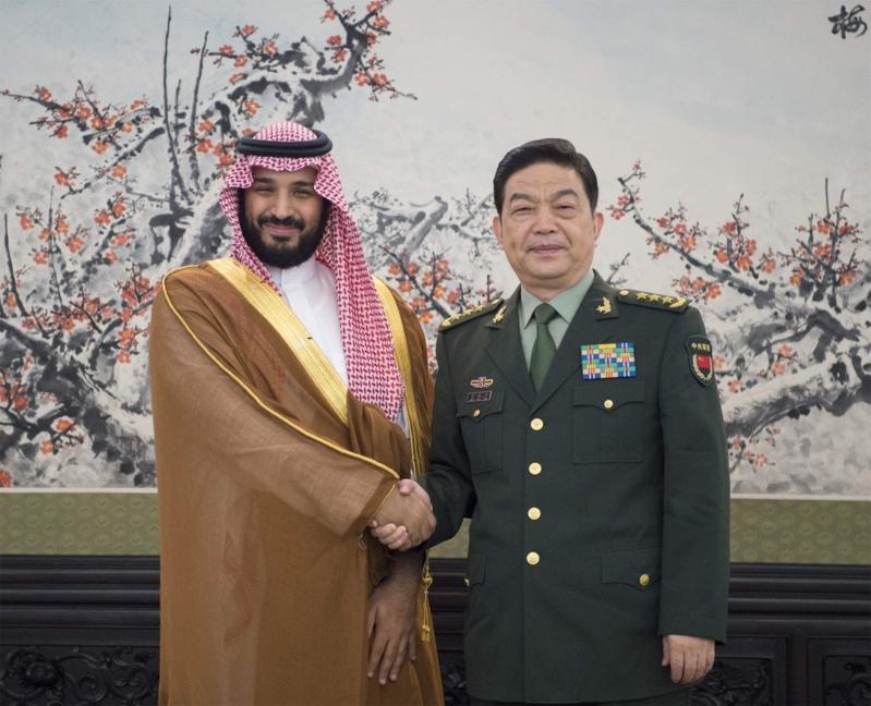 اجنماع ولي ولي العهد مع وزير دفاع الصين 1