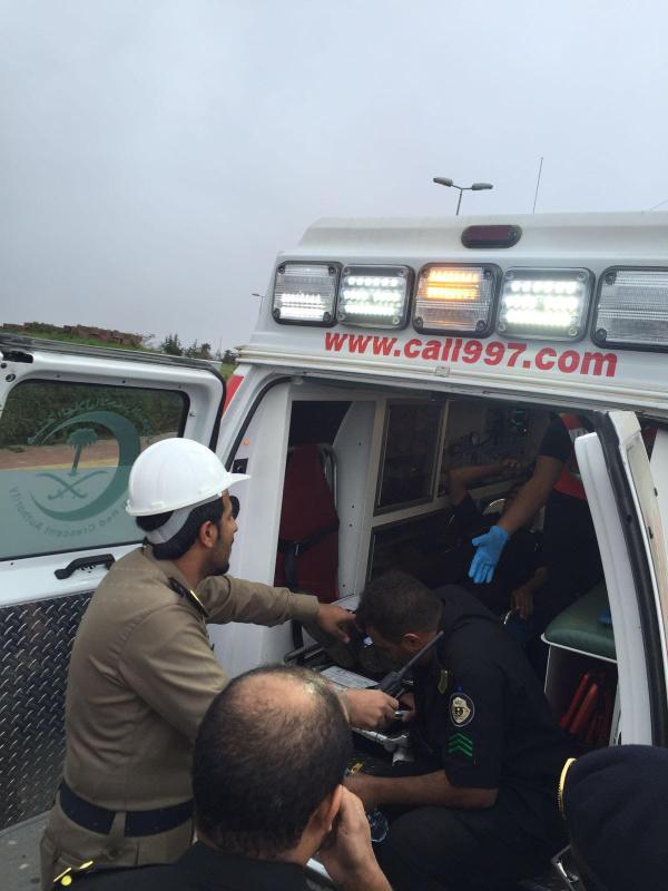 احتجاز رجل امن في الباحة