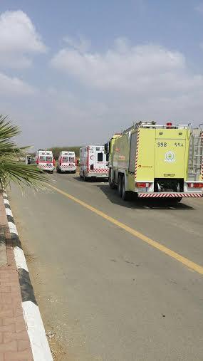 احتجاز عمال في انهيار مبنى تحت الإنشاء في بيش