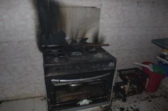 شاهد.. احتراق موقد طهي يُشعل منزلًا في رفحاء - المواطن