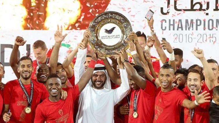 احتفال دبي بالاهلي