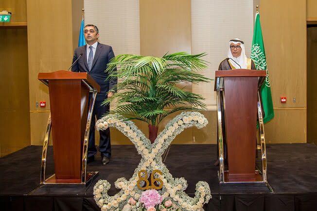 احتفال سفارة السعودية في أذربيجان باليوم الوطني