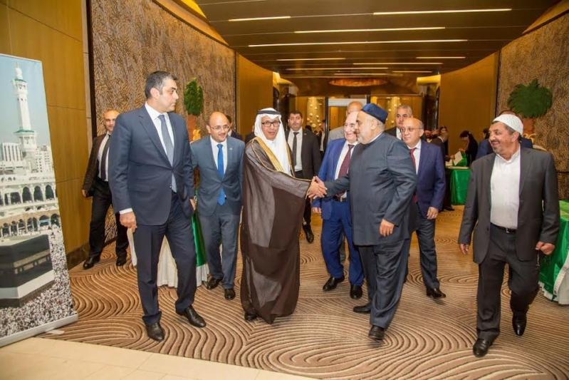 احتفال سفارة السعودية في أذربيجان باليوم الوطني1