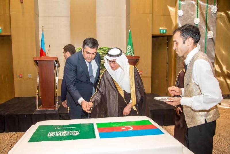 احتفال سفارة السعودية في أذربيجان باليوم الوطني2