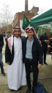 احتفال مميز للجمعية السعودية في نيوكاسل يوضح تاريخ #المملكة ومكانتها  (31195650) 
