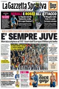 احتفلت الصحافة الإيطالية بتتويج يوفنتوس بطلًا للكأس (34669057) 