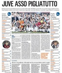 احتفلت الصحافة الإيطالية بتتويج يوفنتوس بطلًا للكأس (34669058) 