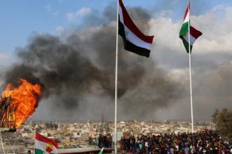 متظاهرون يحرقون مقرات الأحزاب الكردية بالعراق - المواطن