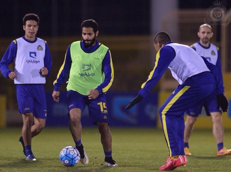 احمد الفريدي لاعب نادي النصر السعودي