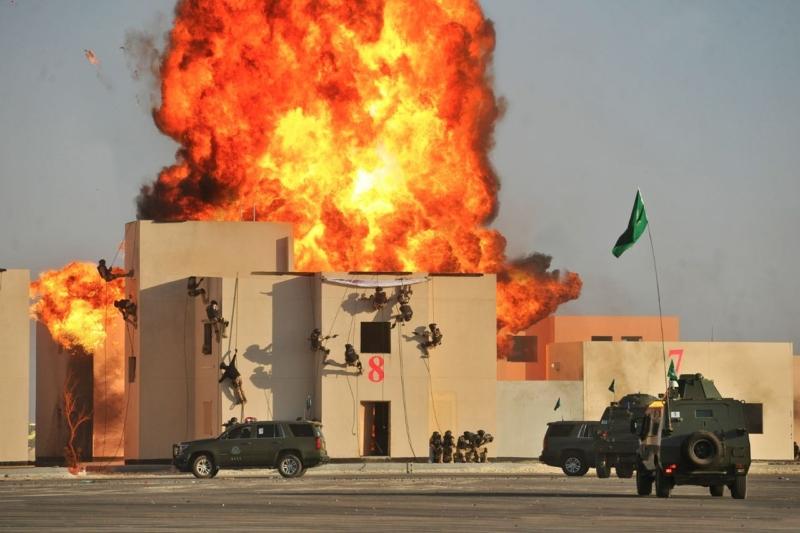 اختتام تمرين امن الخليج1 (8)