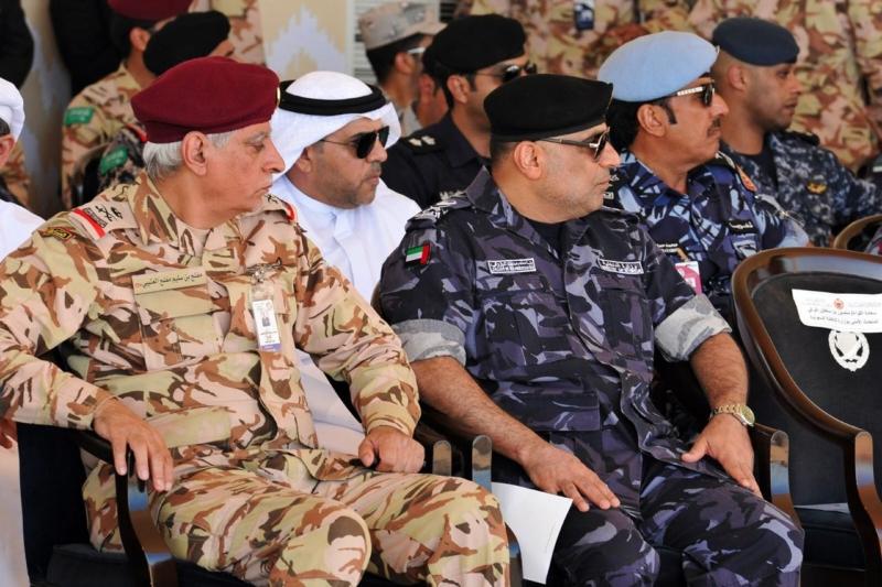 اختتام تمرين امن الخليج1 (9)