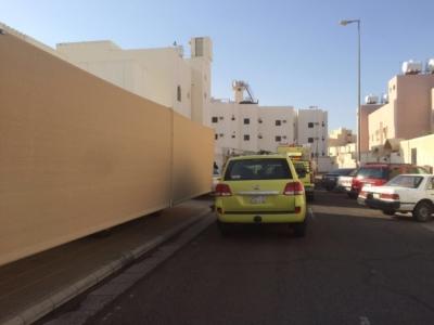 اختناق شخص في حريق شقة بـ #المدينة  (31195649) 
