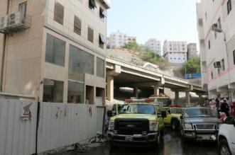 إخلاء 152 مُعْتَمِراً وإصابة آخرين في حريق فندق بمكة - المواطن