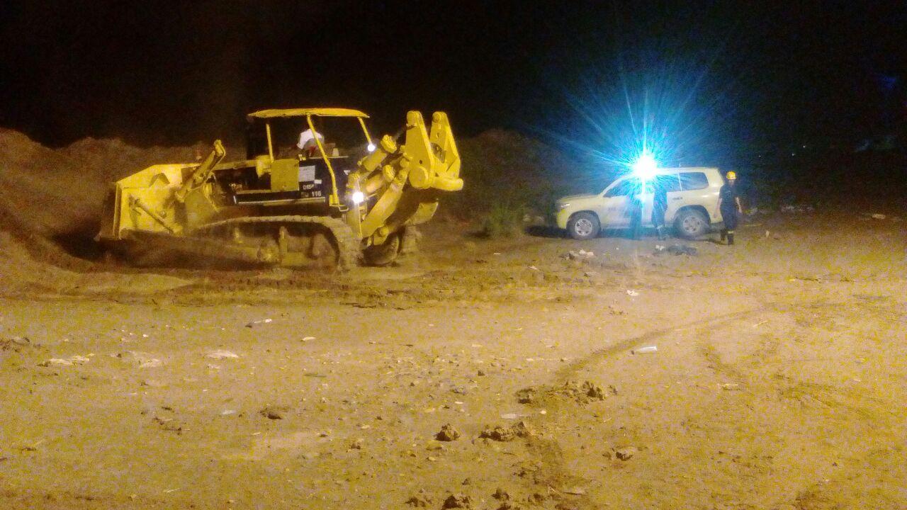ادارة الطرق بجازان تواصل جهودها في الصيانة بعد الأمطار (6)