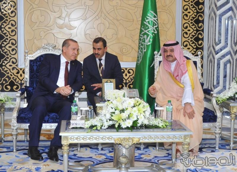 اردوغان-يصل-جدة-لاداء-مناسك-العمرة