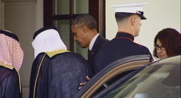 #أمريكا تكسر قواعد البروتوكول عبر تاريخها لأجل #السعودية - المواطن
