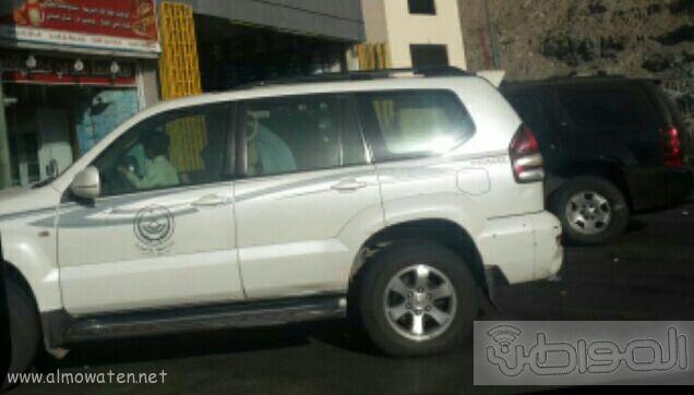 استخدام سيارة تابعة لإمارة مكة لأغراض شخصية
