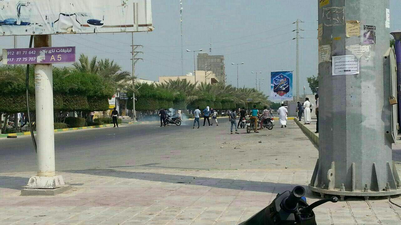 استشهاد مواطن أحوازي وجرح ثمانية آخرين برصاص الاحتلال في بلدة النعيمية (4)
