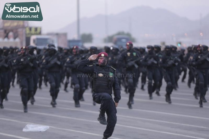 استعدادات رجال الأمن لموسم الحج صحيفة المواطن (281959710)  
