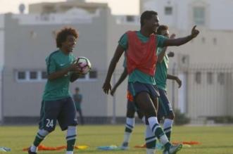 استعدادت المنتخب السعودي الشاب (3)