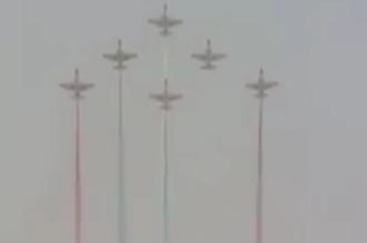 بالفيديو.. استعراض طياري فريق قلب الأسد الباكستاني بمناورات # رعد_الشمال - المواطن
