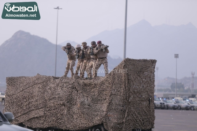 استعراض قوات الحج 11