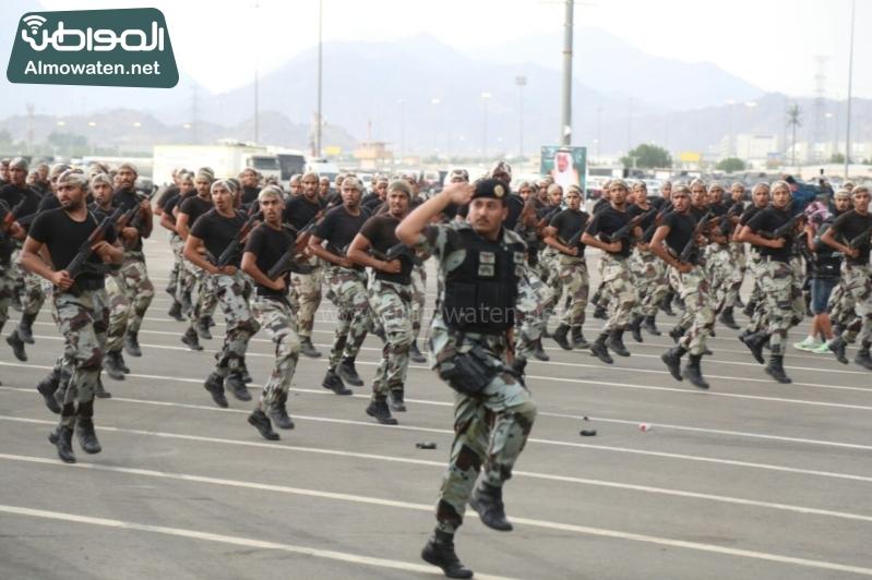 استعراض قوات الحج 24