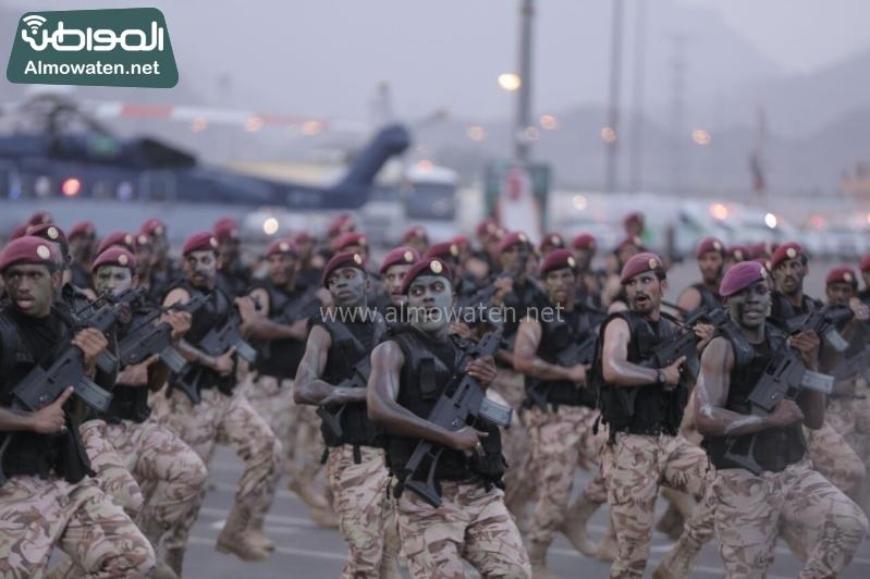 استعراض قوات الحج102