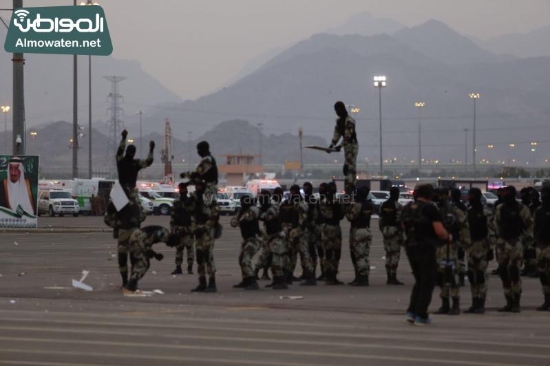 استعراض قوات الحج52