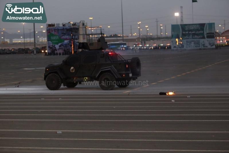 استعراض قوات الحج56