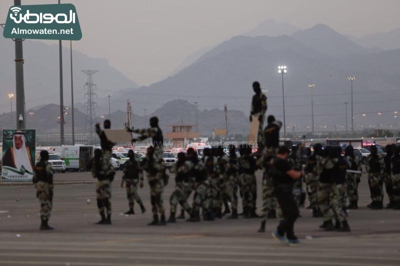استعراض قوات الحج61