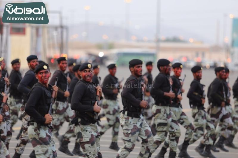 استعراض قوات الحج72