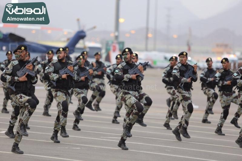 استعراض قوات الحج74