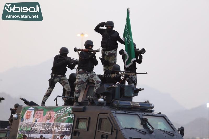 استعراض قوات الحج77