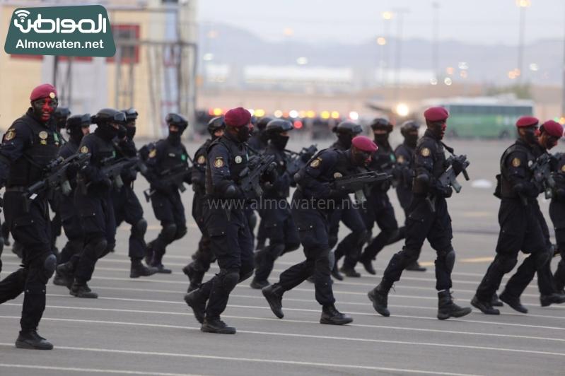 استعراض قوات الحج82