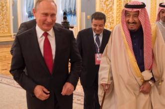 """الملك في برقية لـ """"بوتين"""" : مباحثاتنا أكدت العزم على تعزيز العلاقات واستمرار التنسيق - المواطن"""