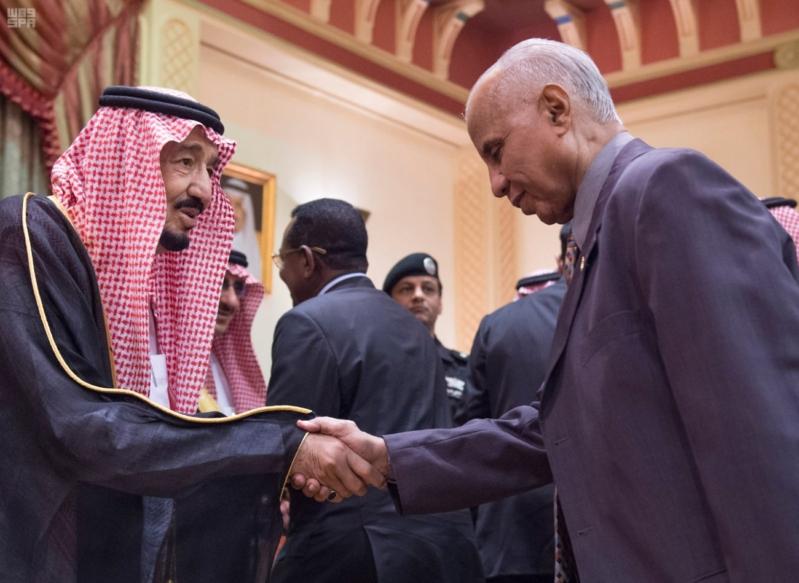 استقبال الملك لرئيس السودان 2