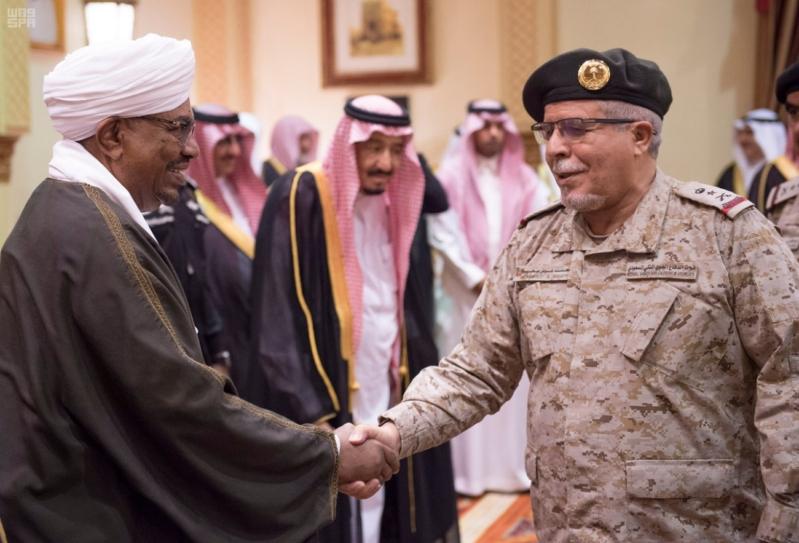 استقبال الملك لرئيس السودان 3