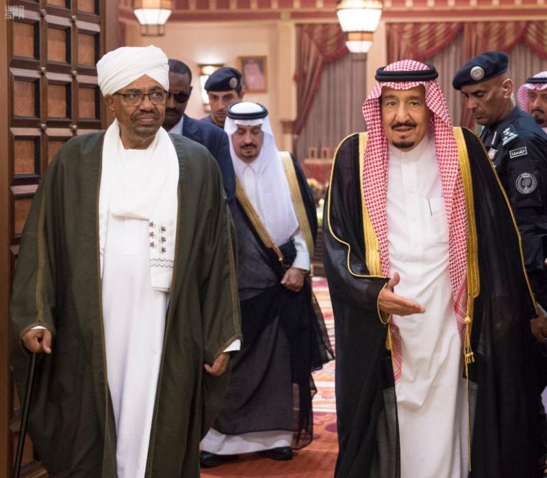 استقبال الملك لرئيس السودان 4