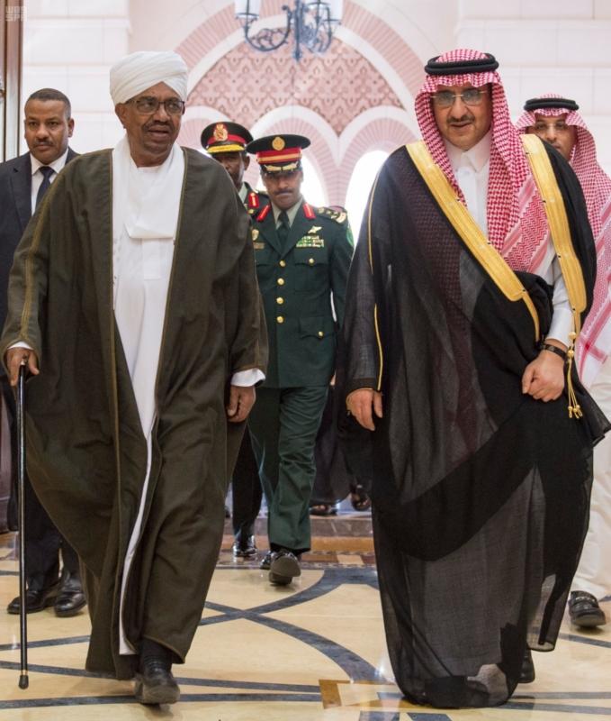 استقبال الملك لرئيس السودان 6
