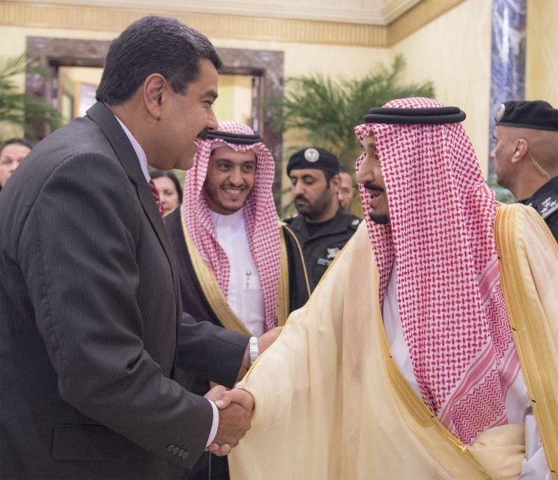 استقبال الملك لرئيس فنزويلا4
