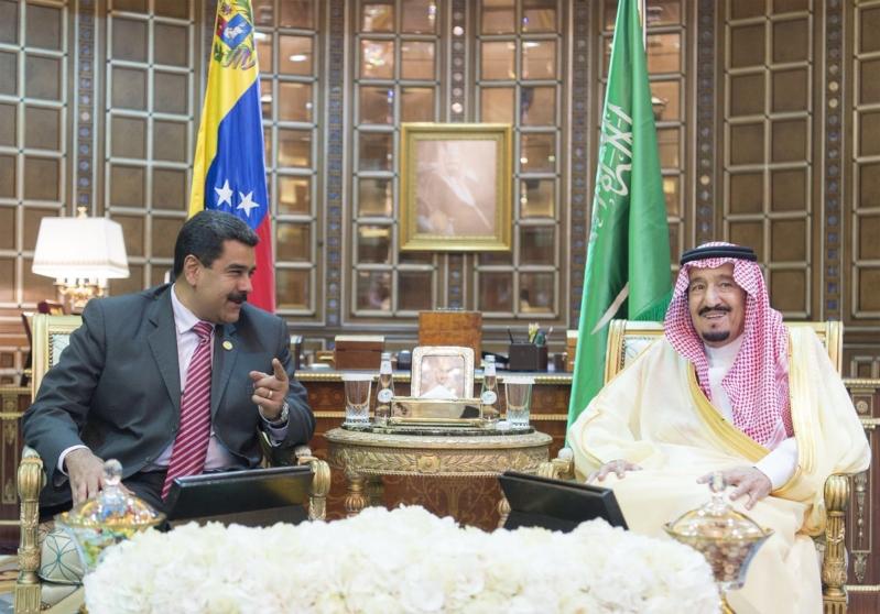 استقبال الملك لرئيس فنزويلا7
