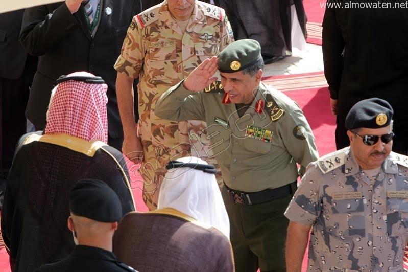 استقبال الملك للوفود