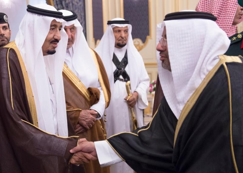 استقبال الملك