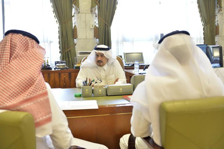 استقبال امير الرياض لمدير المطار 2